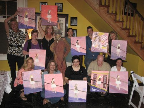 Painting Passion Classes