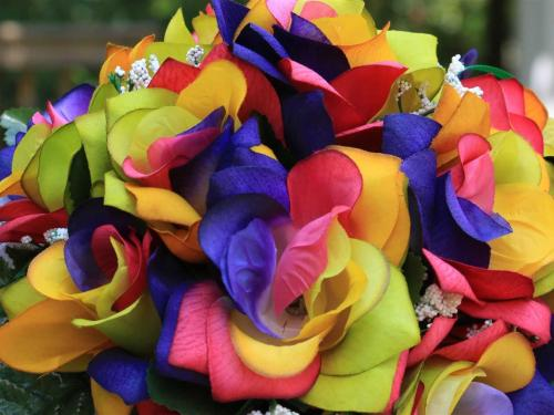 Silk flower Color Options
