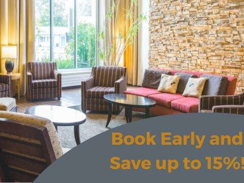 Book Early and Save!