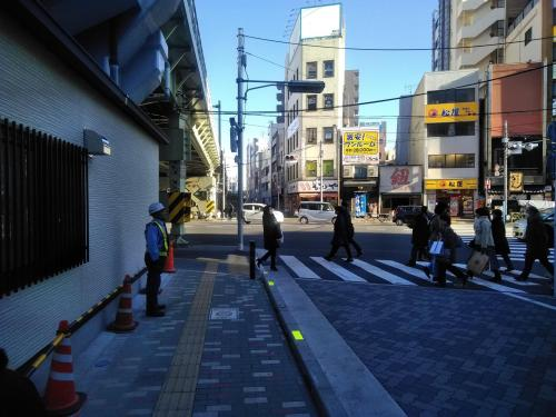 From Asakusabashi Station (for guest with luggage or using wheel chair)