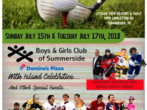 Atlantic Canada's Premiere Celebrity Golf Tournament & Dinner Gala