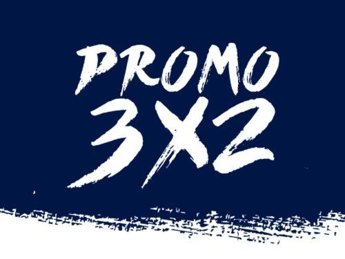 3x2 Fines de semana!