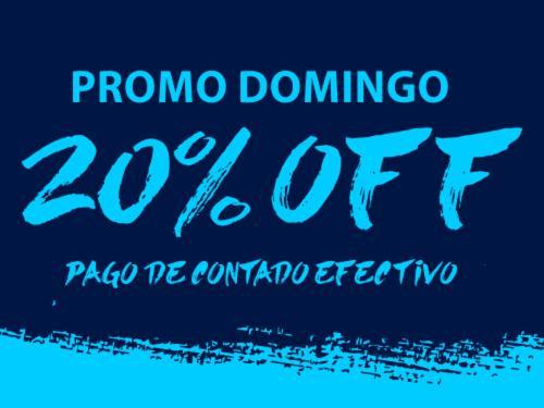 20% Off Domingos!