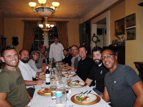 Dining at the Elkhorn Inn