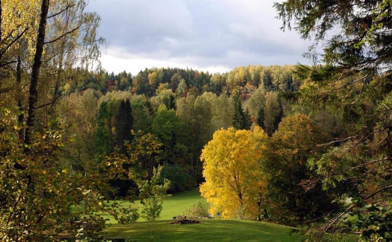 Landscape park of Karlamuiza hotel