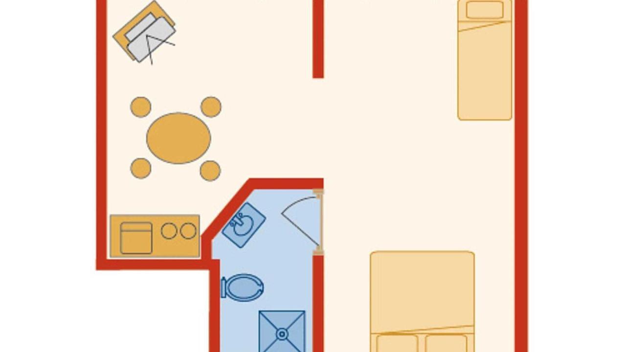 Plan de la chambre de James