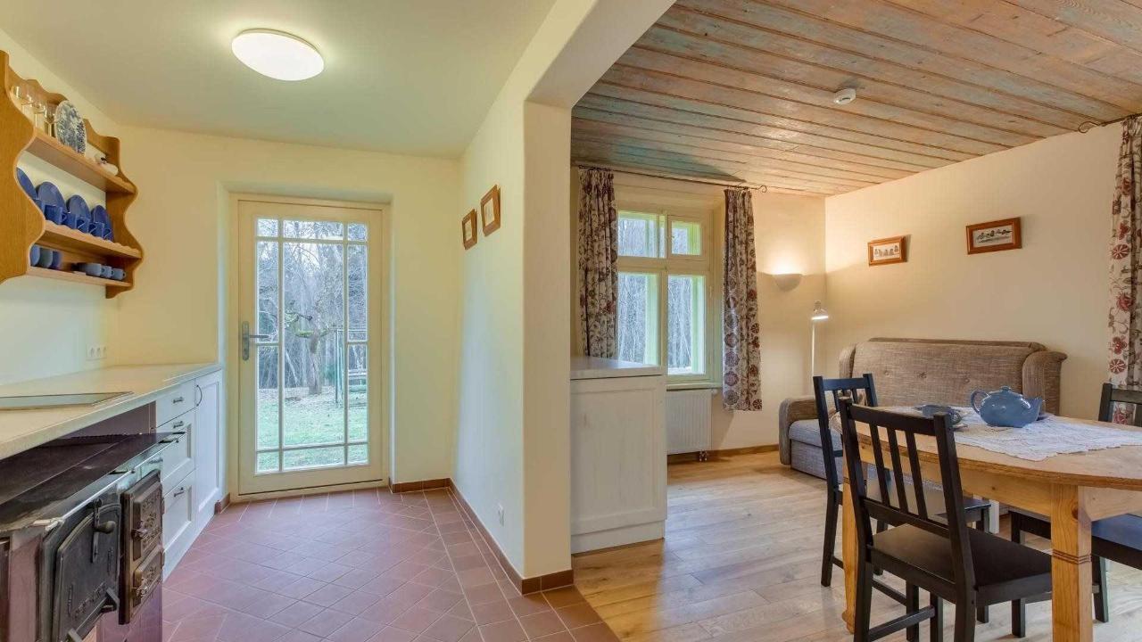 Küche im Cottage Annmarie