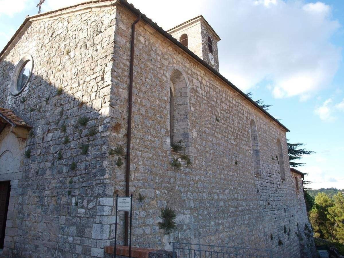 Alte Kirche von Semproniano, La Pieve