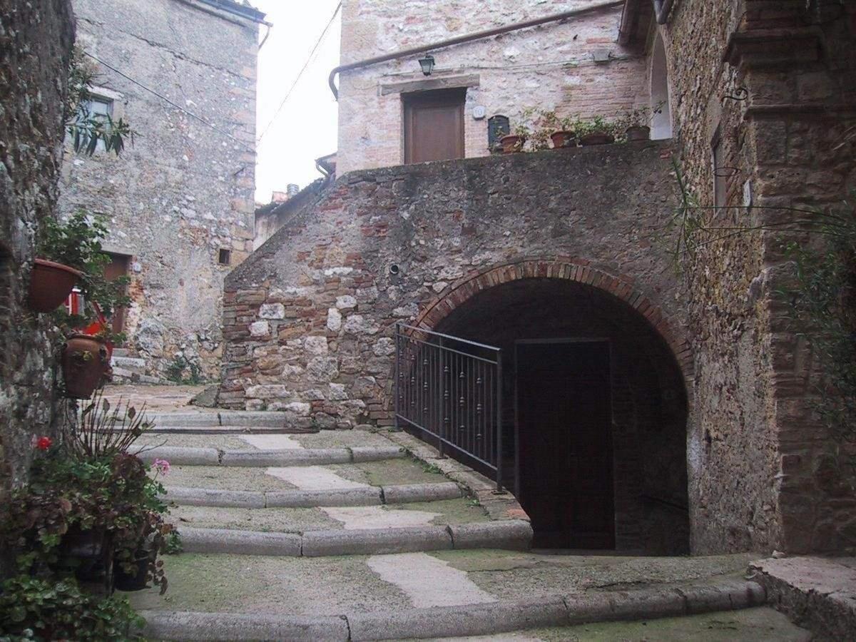 Das historische Zentrum des Dorfes