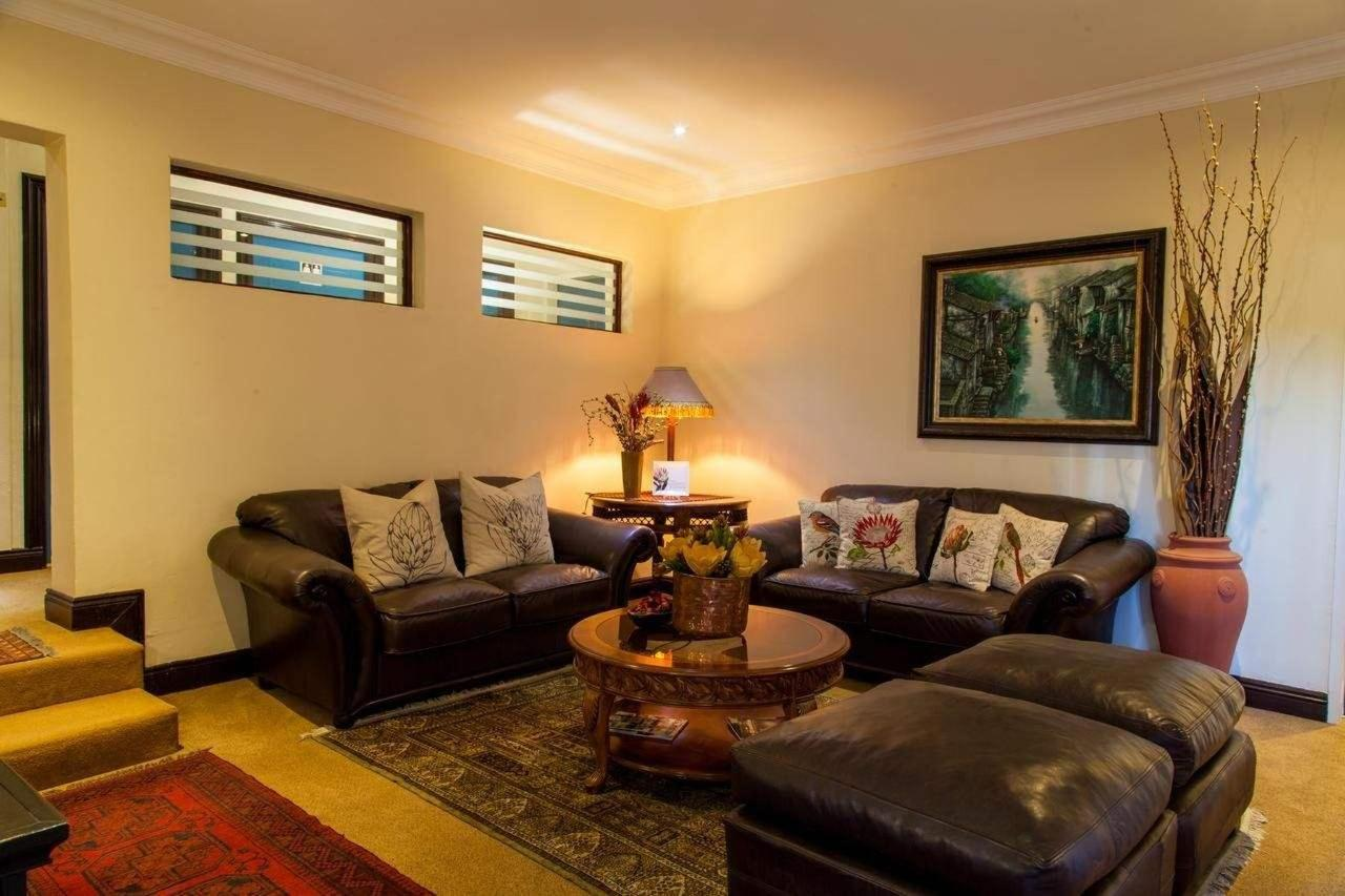 Lounge at Constantia Manor Guesthouse
