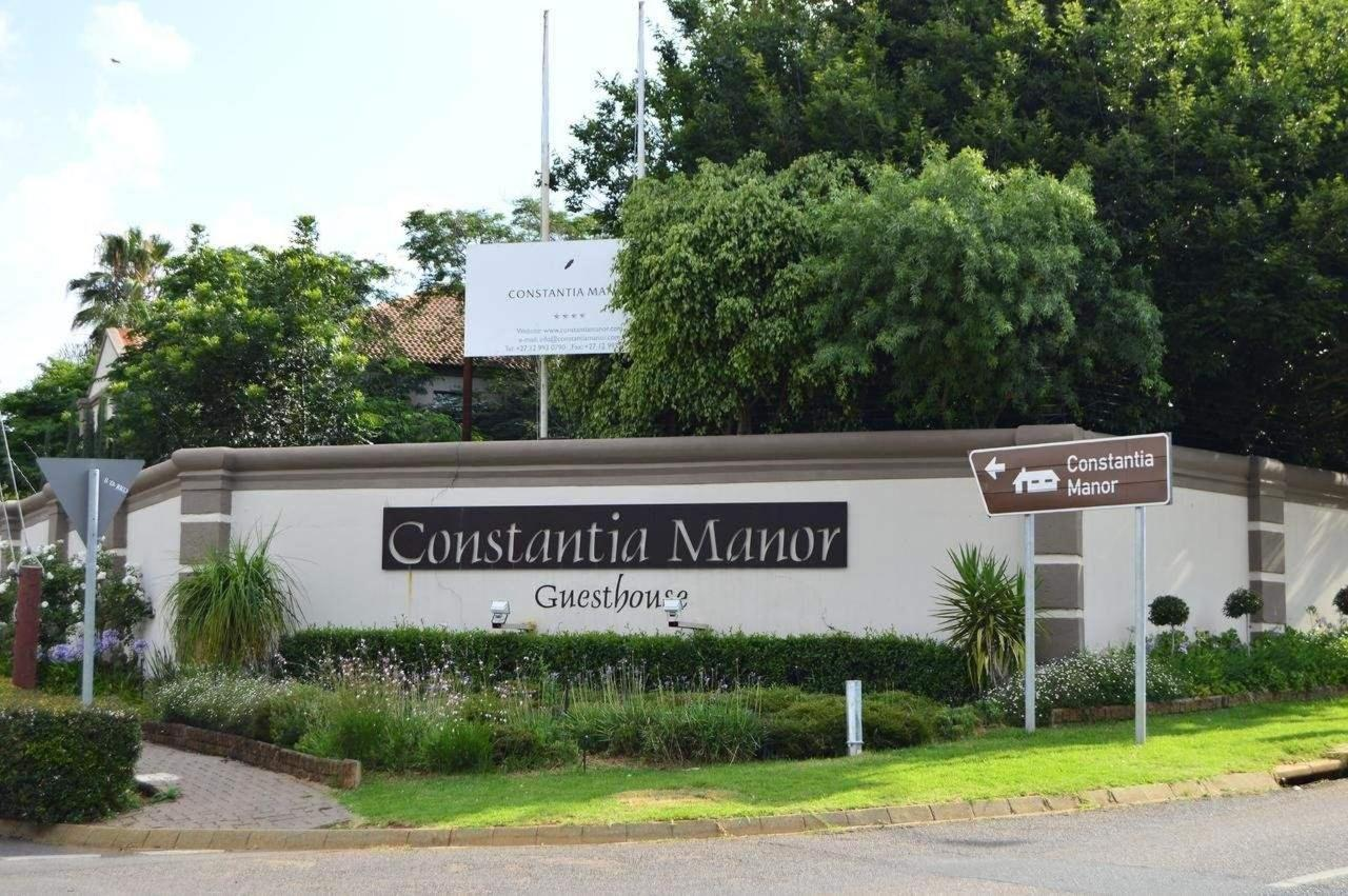 Street view of Constantia Manor Guesthouse