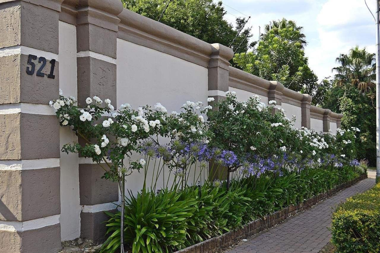 Outside wall of Constantia Manor Guesthouse