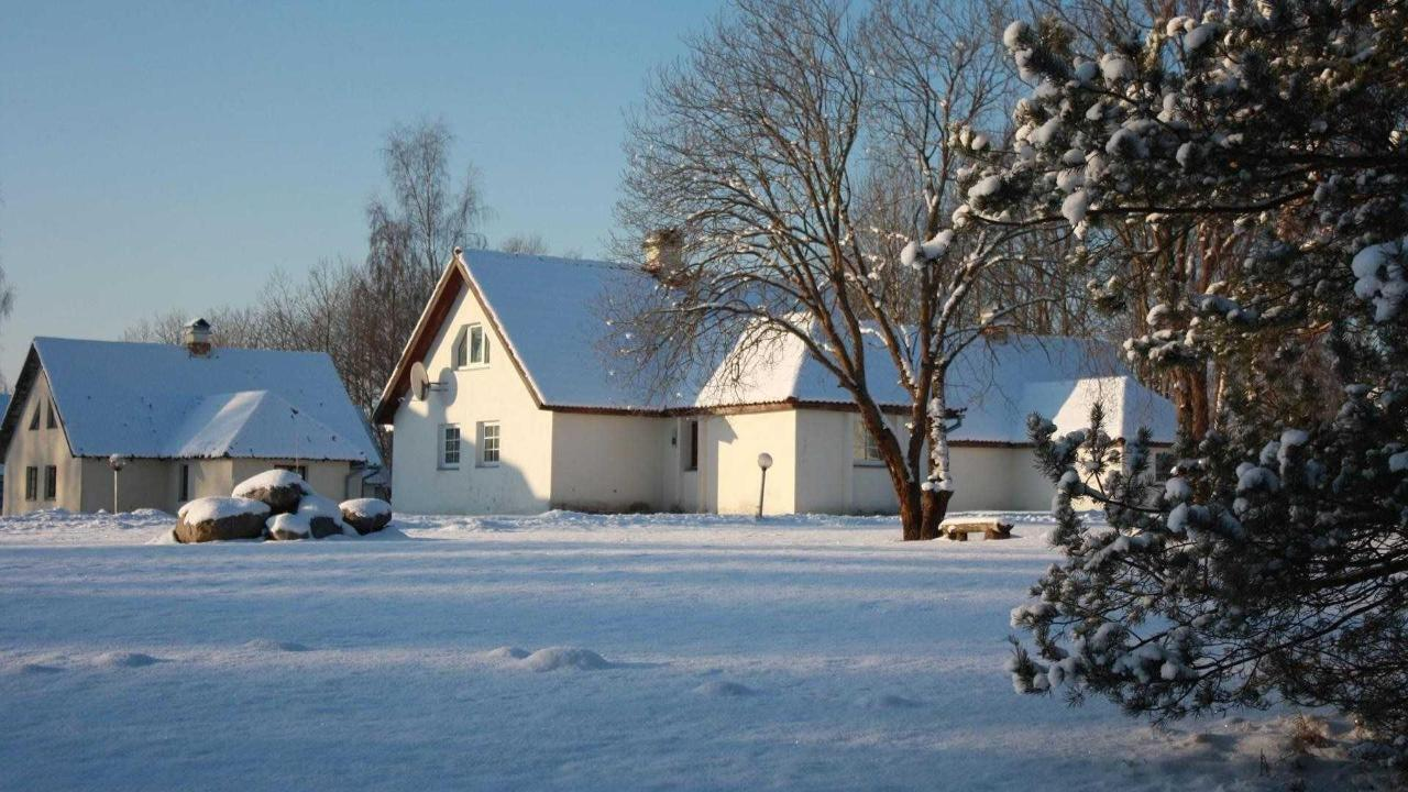 Laagna hotel in winter