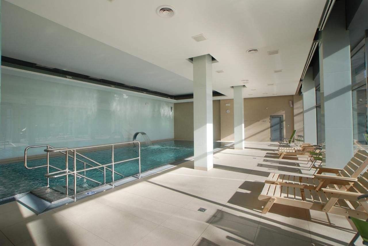 bazén s parní saunou