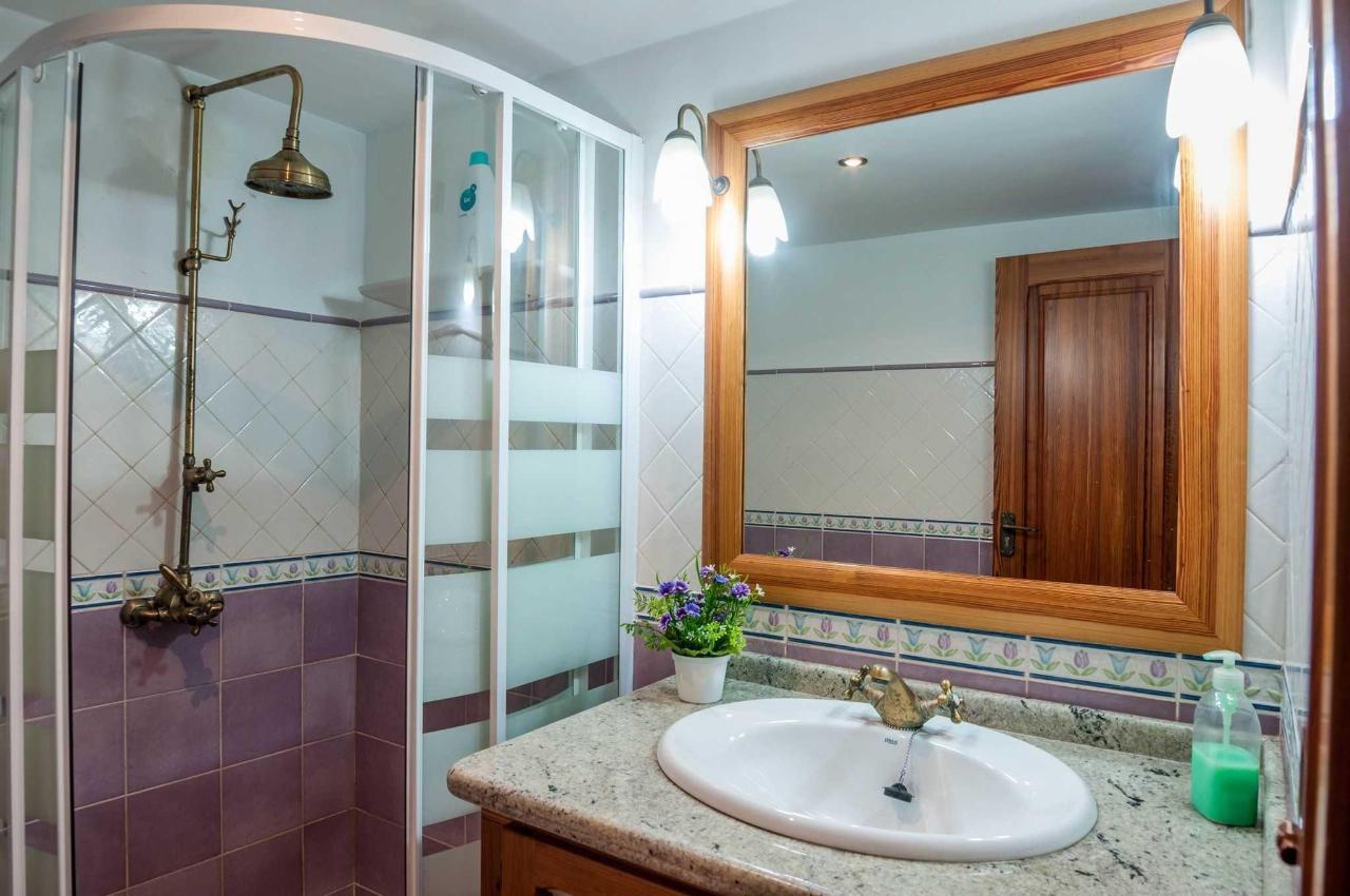 Detalle del baño del tercer piso