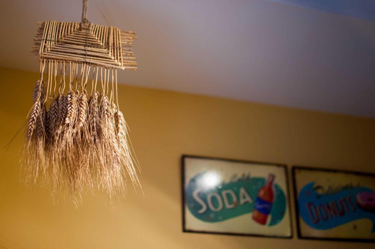 Otro detalle de la decoración en la cocina