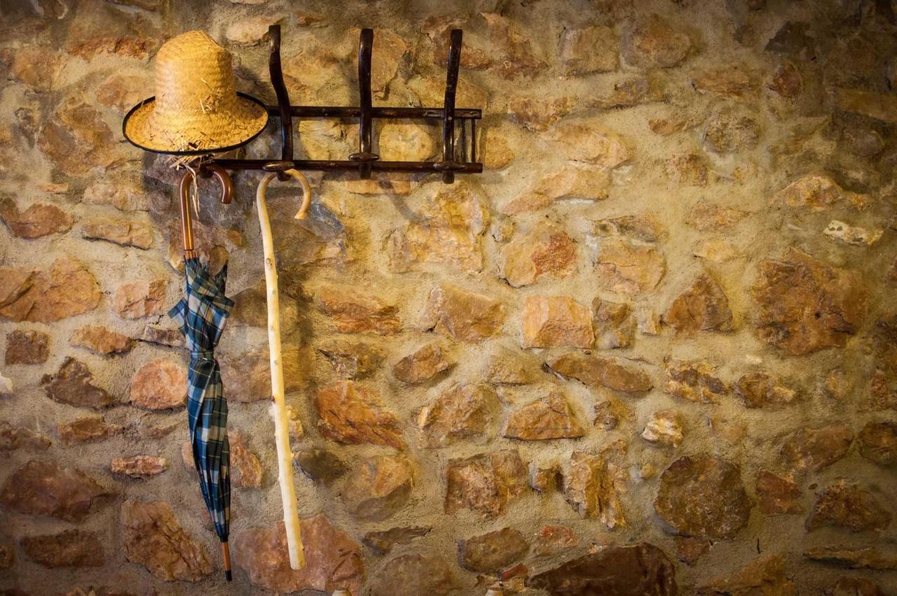 Antiguas paredes de piedra