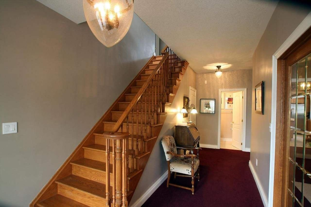 Stairs to second floor