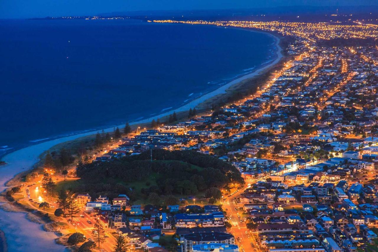 Mt Maunganui at Night