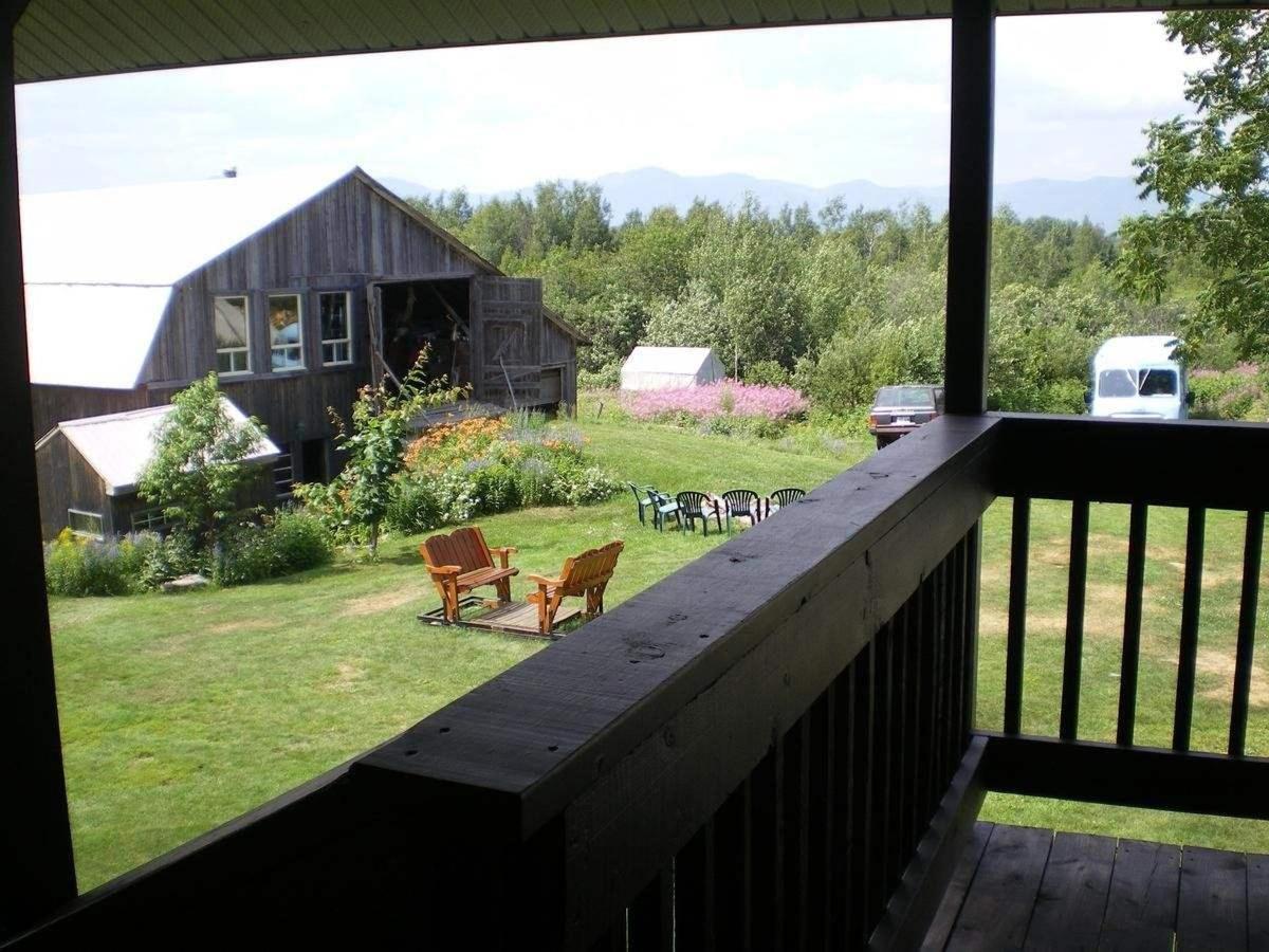 Terrasse chambre