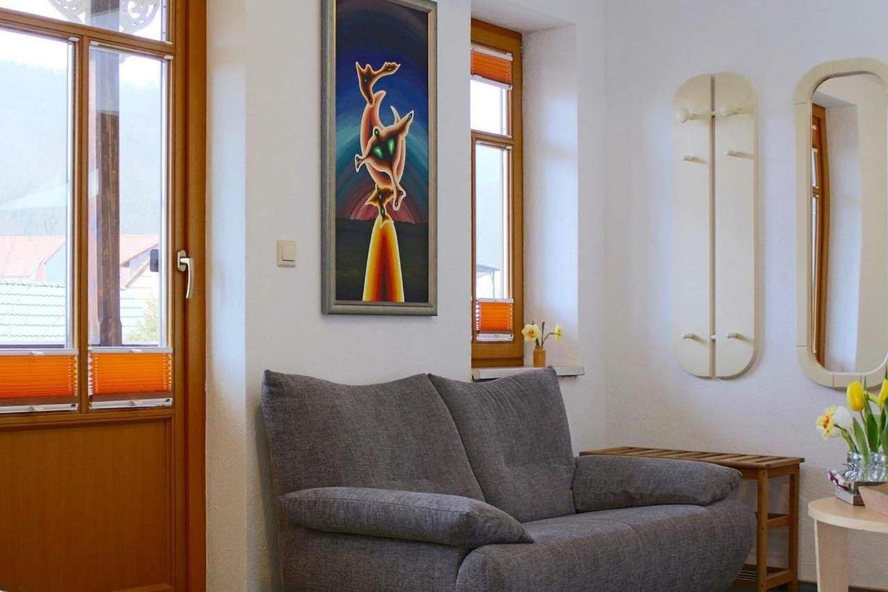 Sofa im Doppel-Zimmer