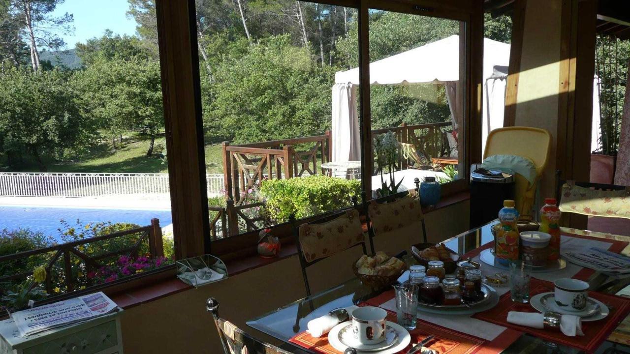 Breakfast in the veranda