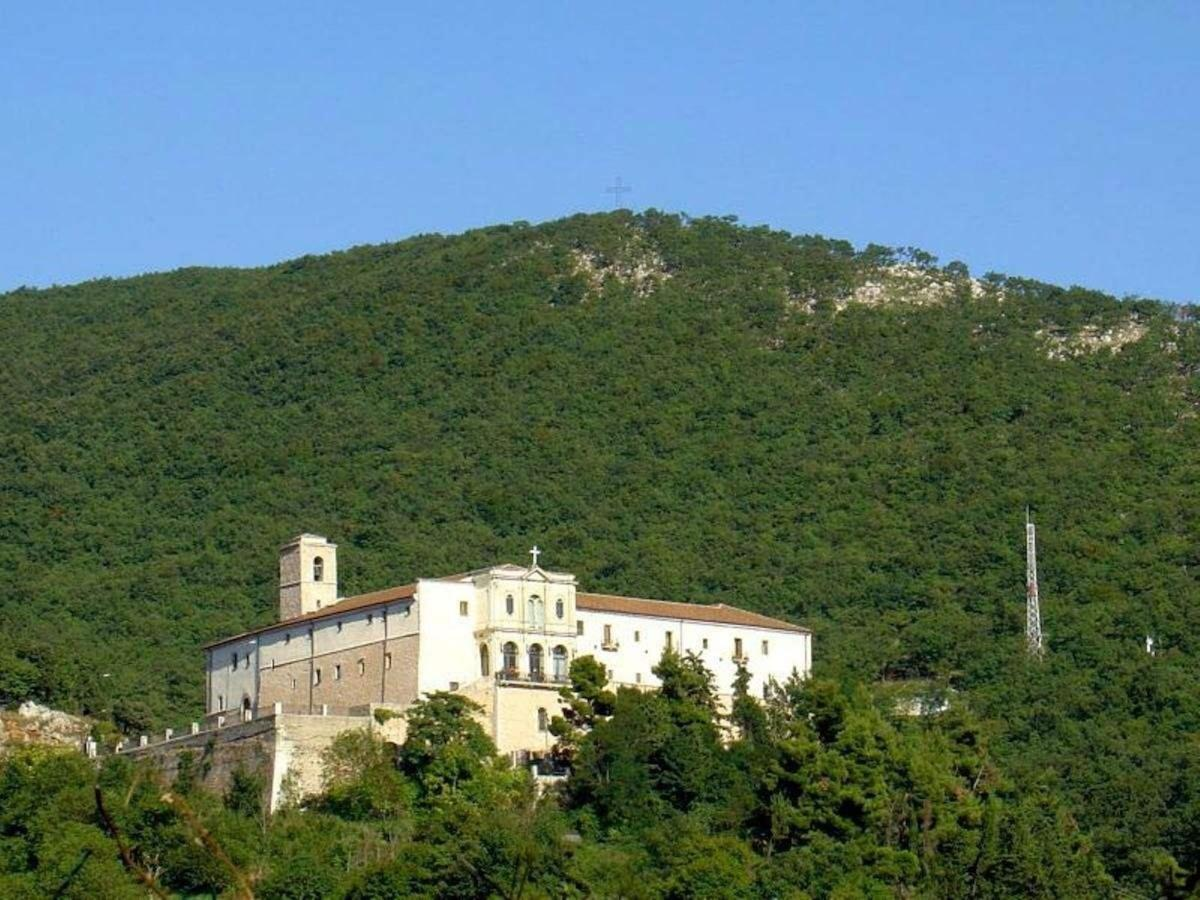 San Matteo convent-monastery-immersed-in-nature