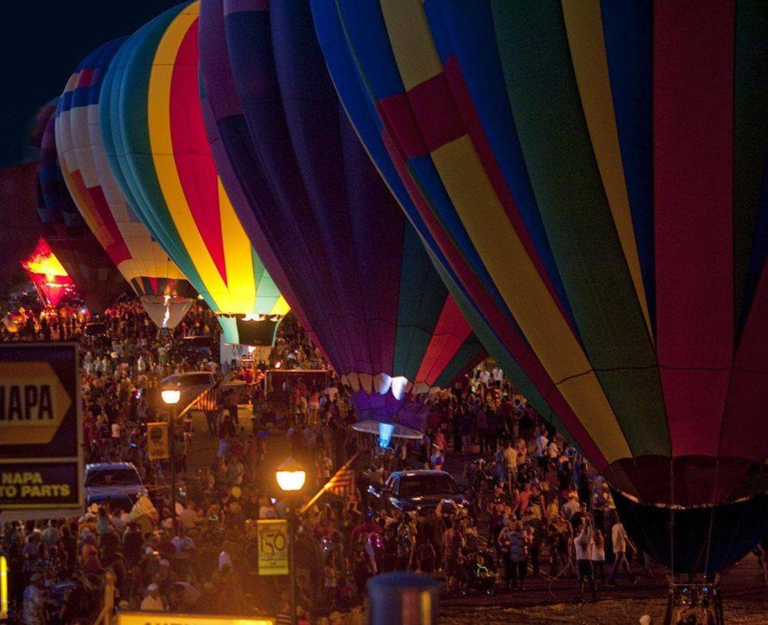 Panguitch Valle Balloon Rally, Resplandor del globo