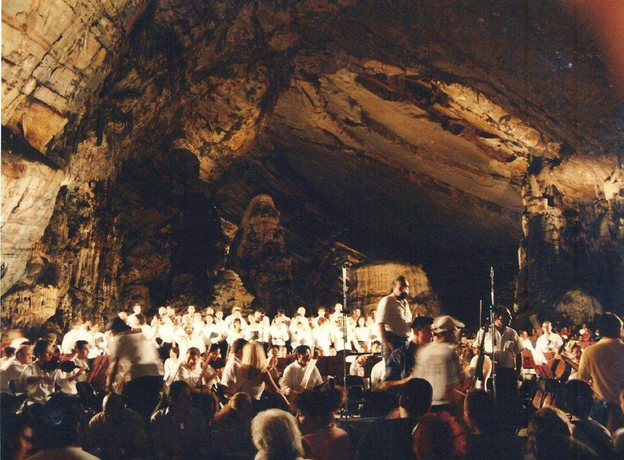 Once a Year Concert at the Grutas de Cacahuamilpa