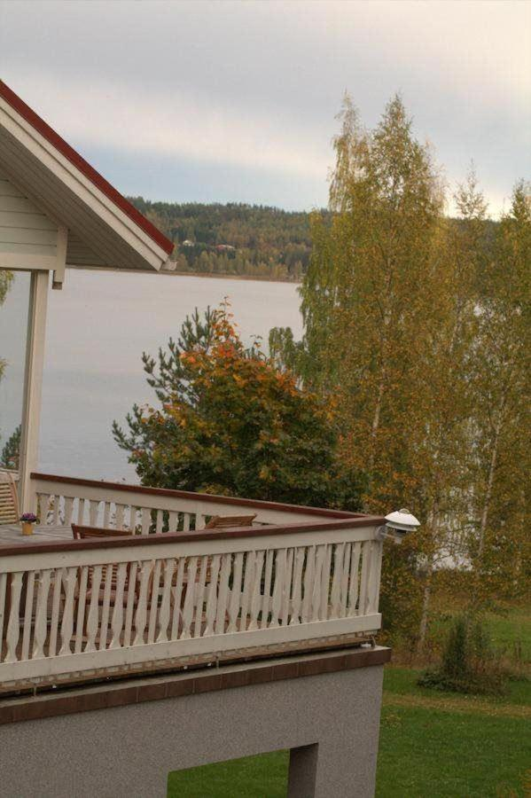 Terassilta järvelle