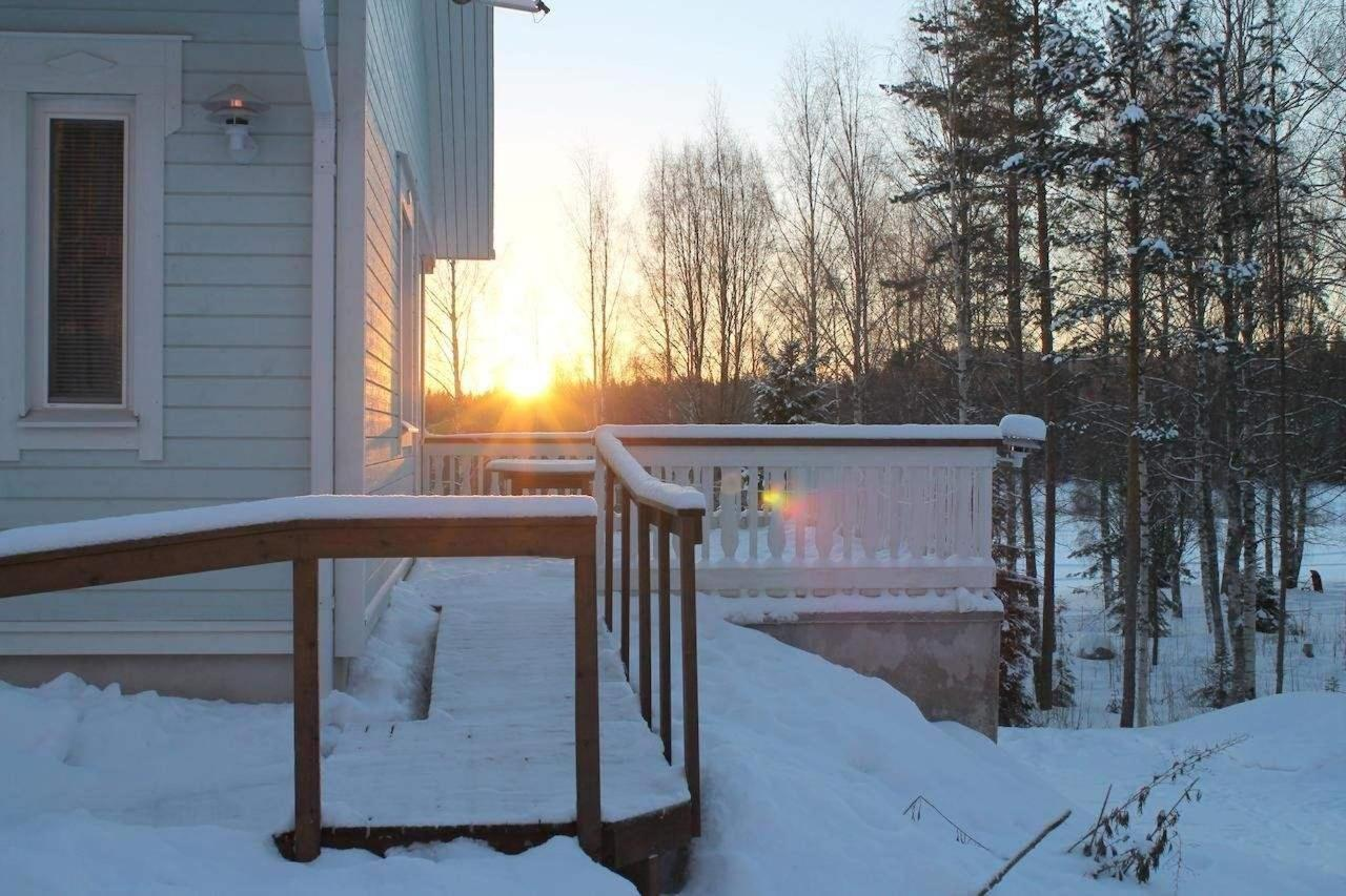 Willa Rautalahti aamu talvella
