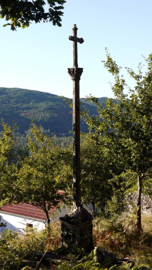 Pilgerkreuz bei Rubiães