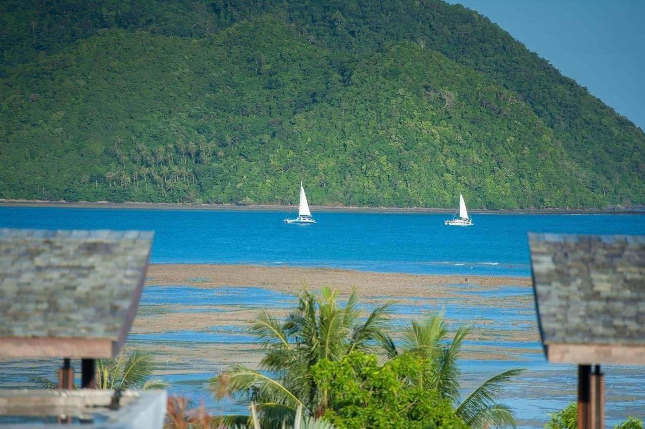Overlooking Chalong Bay from the terrace