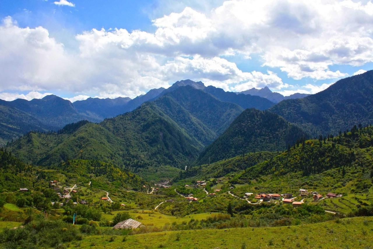 Our valley - Shang Si Zhai.