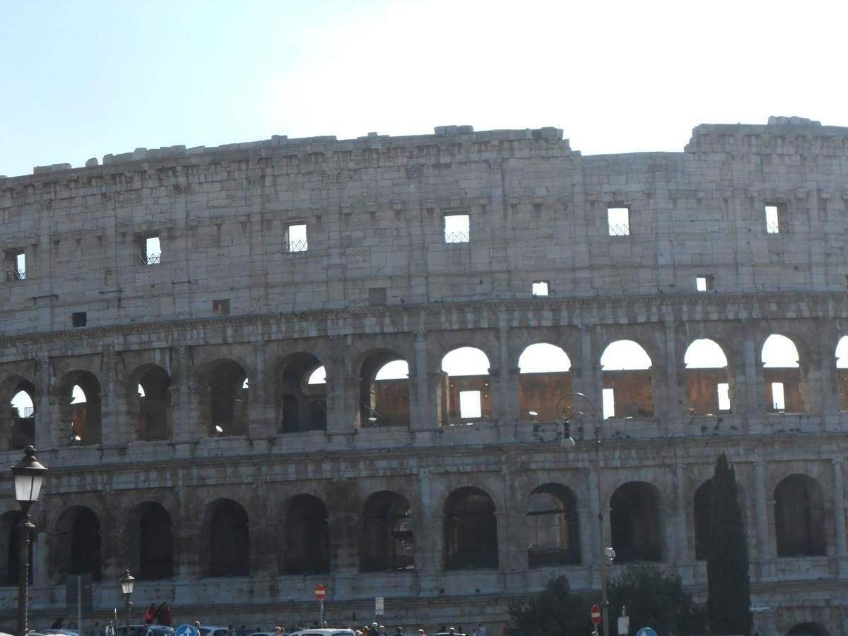 Colosseo...very close