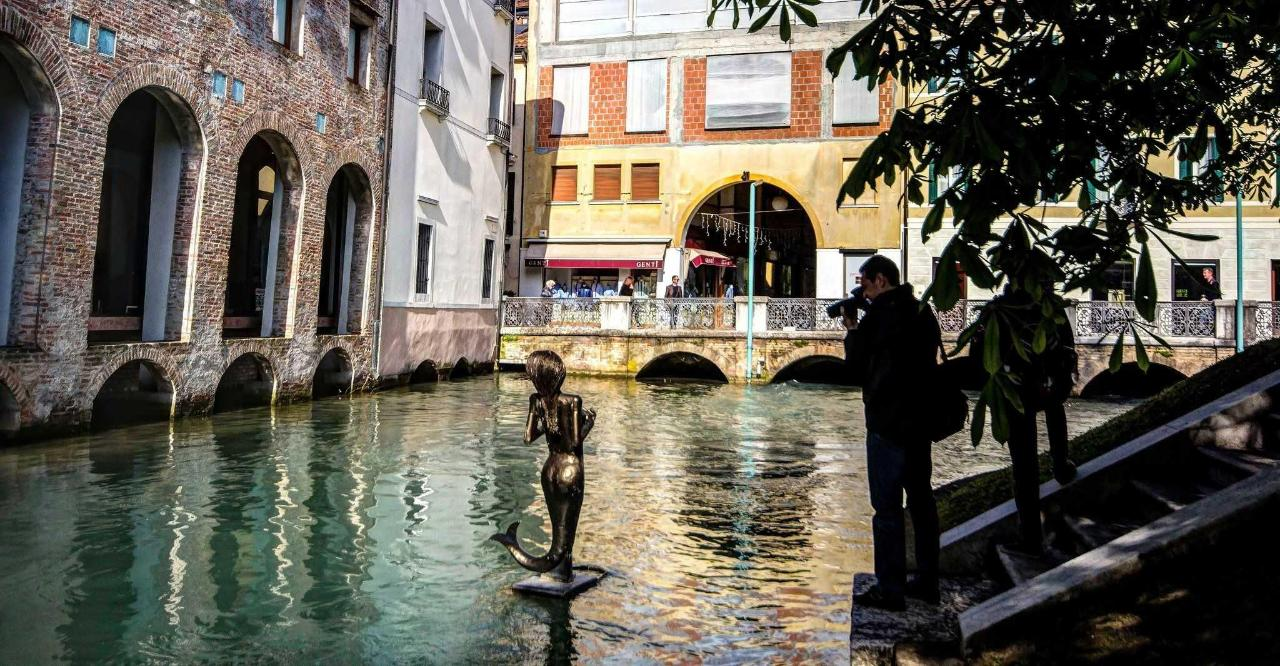 Treviso - The Little Mermaid - Pescheria zone