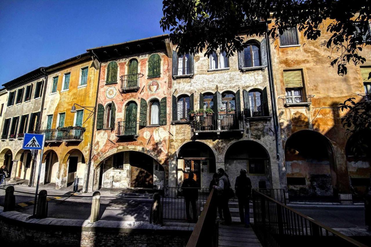 Treviso - Roggia Street - Houses of the twelfth century