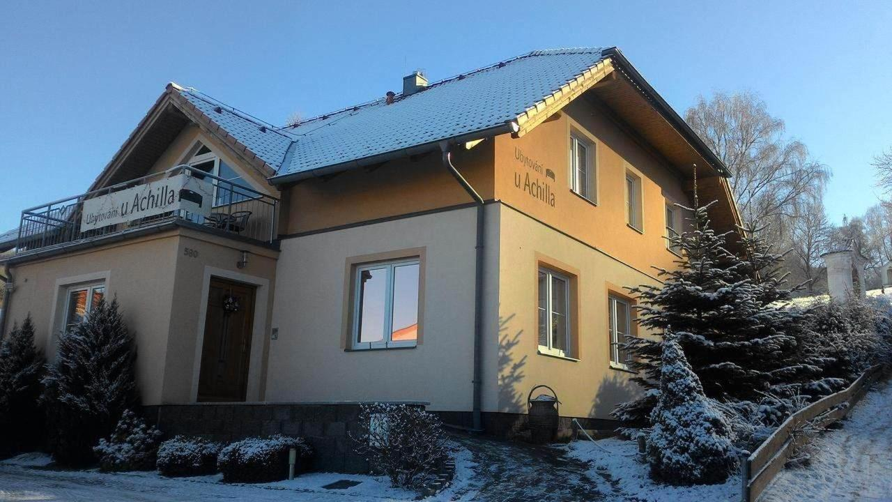 Pension in Winter