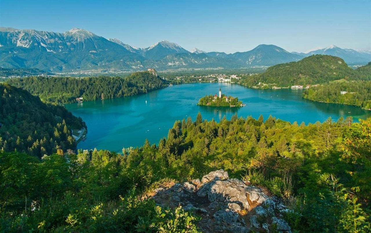 Blejsko jezero - pomlad
