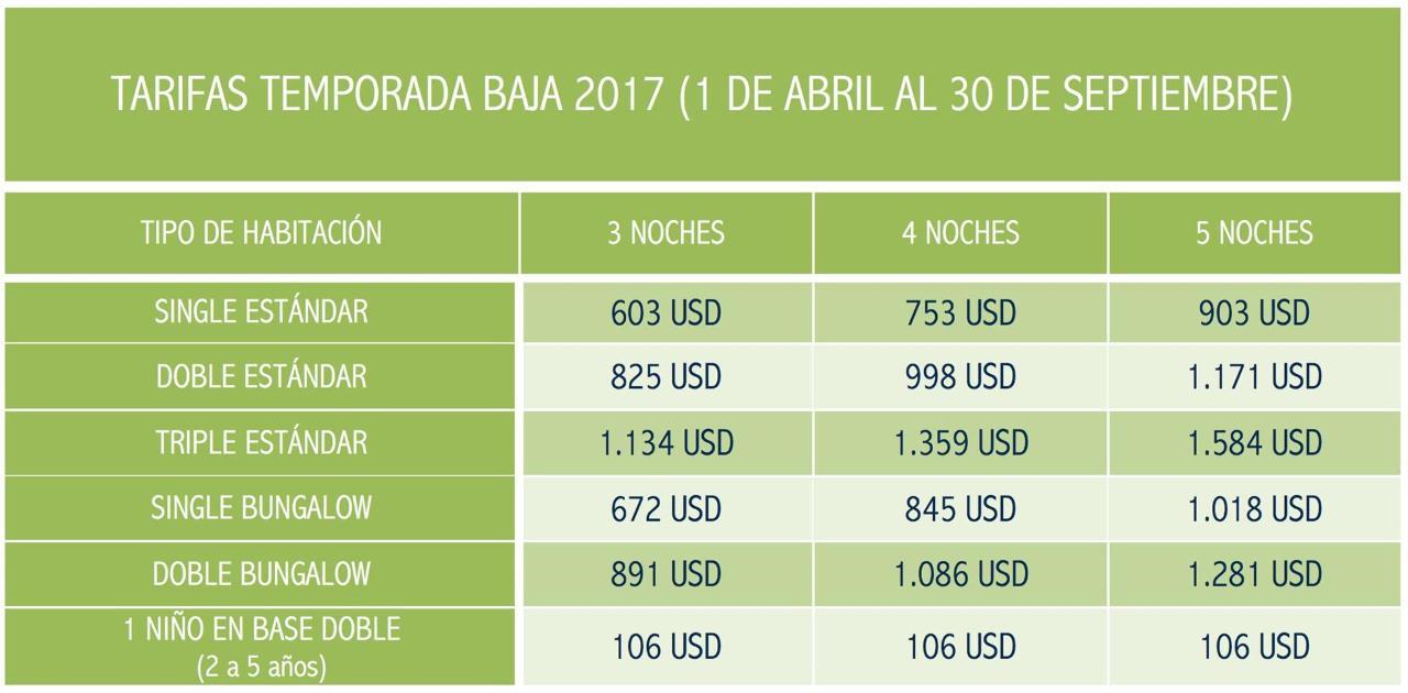 Preços Full Rapa Nui