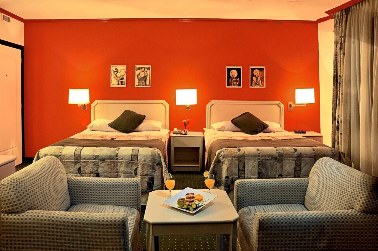 An Executive room with 2 queen size beds