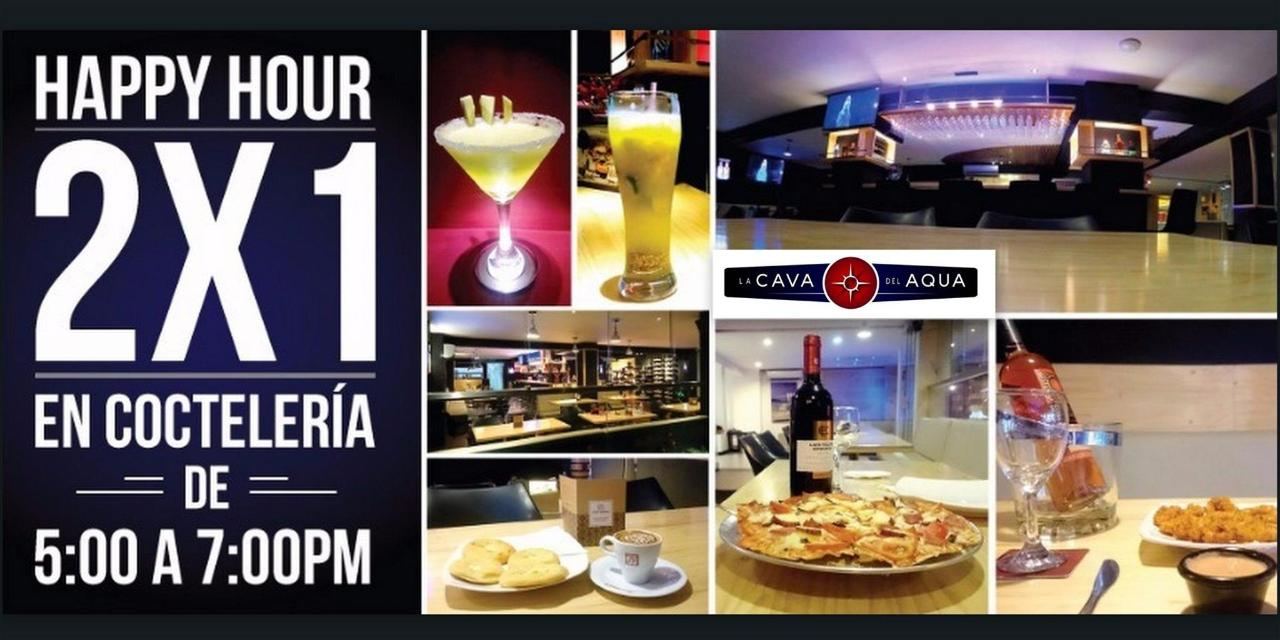 Happy Hour restaurant bar La Cava del Aqua Granada Hotel