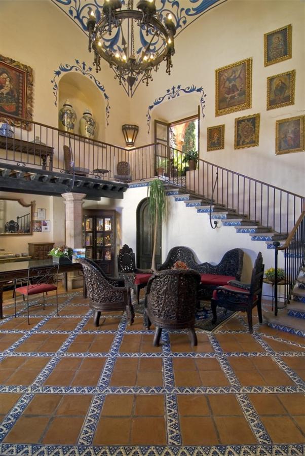 Lobby, Hotel Casa Rosada Adults Only, Guanajuato, Mexico.jpg