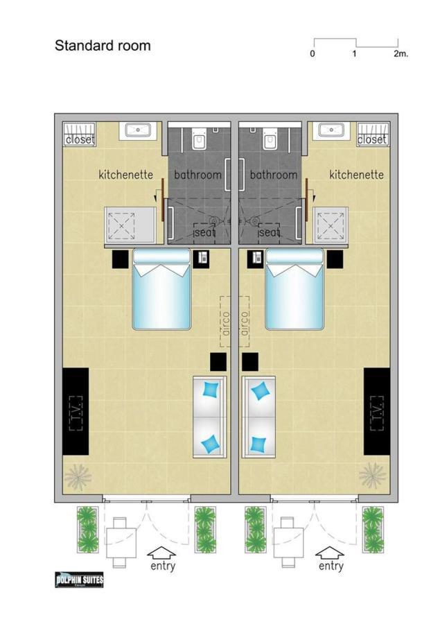 Floorplan Room,Floor Plans, Dolphin Suites, Willemstad, Curaçao.jpg