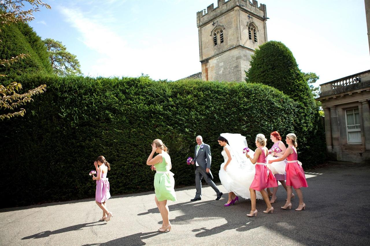 Bridal party and St Mary's Church.jpg