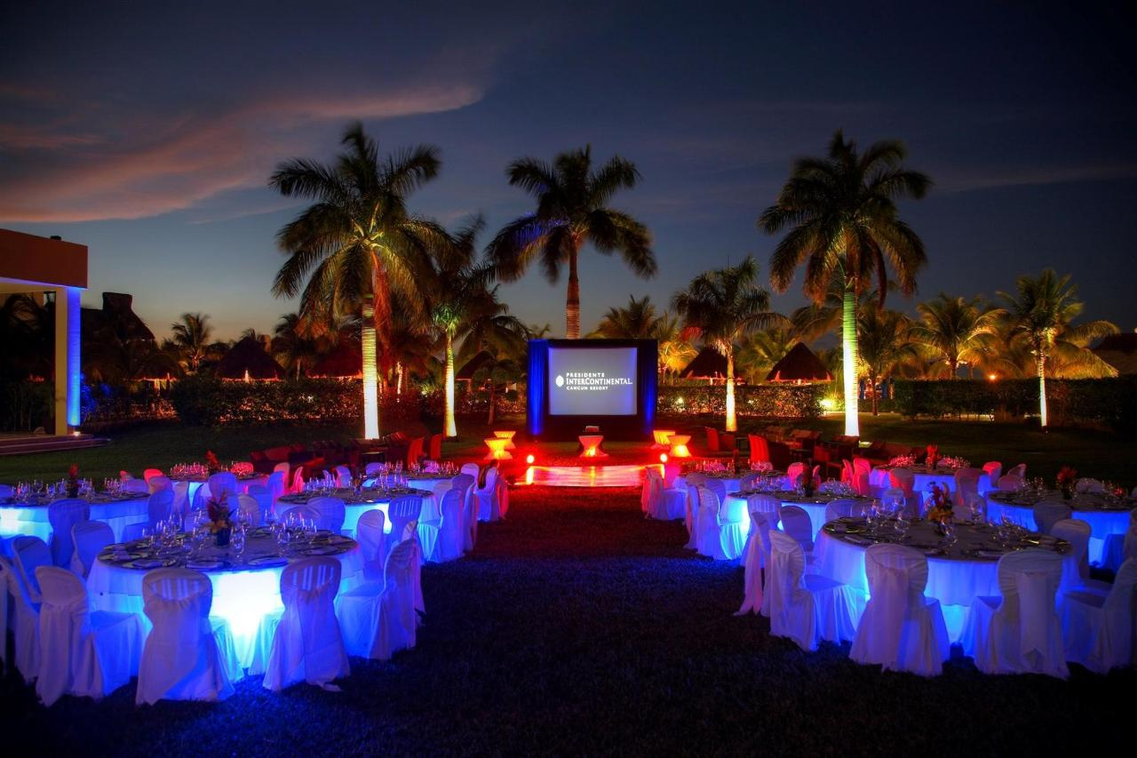 Groups & Events, Hotel Presidente InterContinental Cancun, Mexico