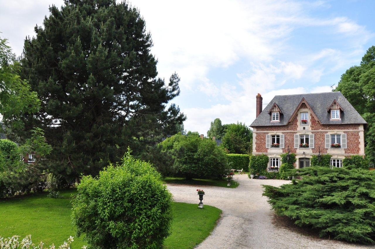 Jardin Fleuri Manoir des Lions de Tourgéville