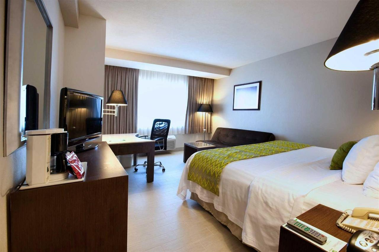 Standard room, Holiday Inn Puebla La Noria in México.jpg
