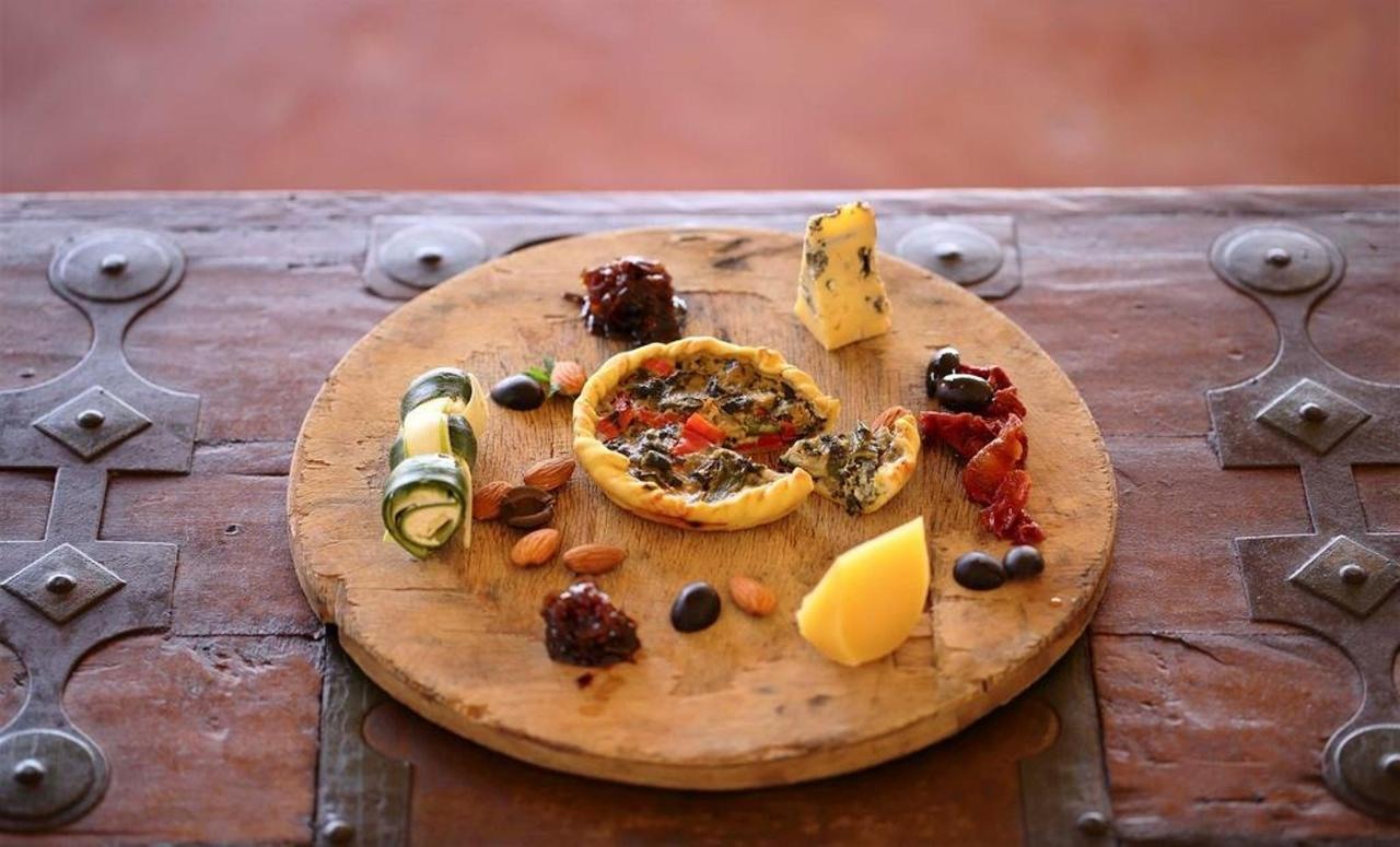 Vegetable tart cheeses onion marmalade and nuts 2.jpg