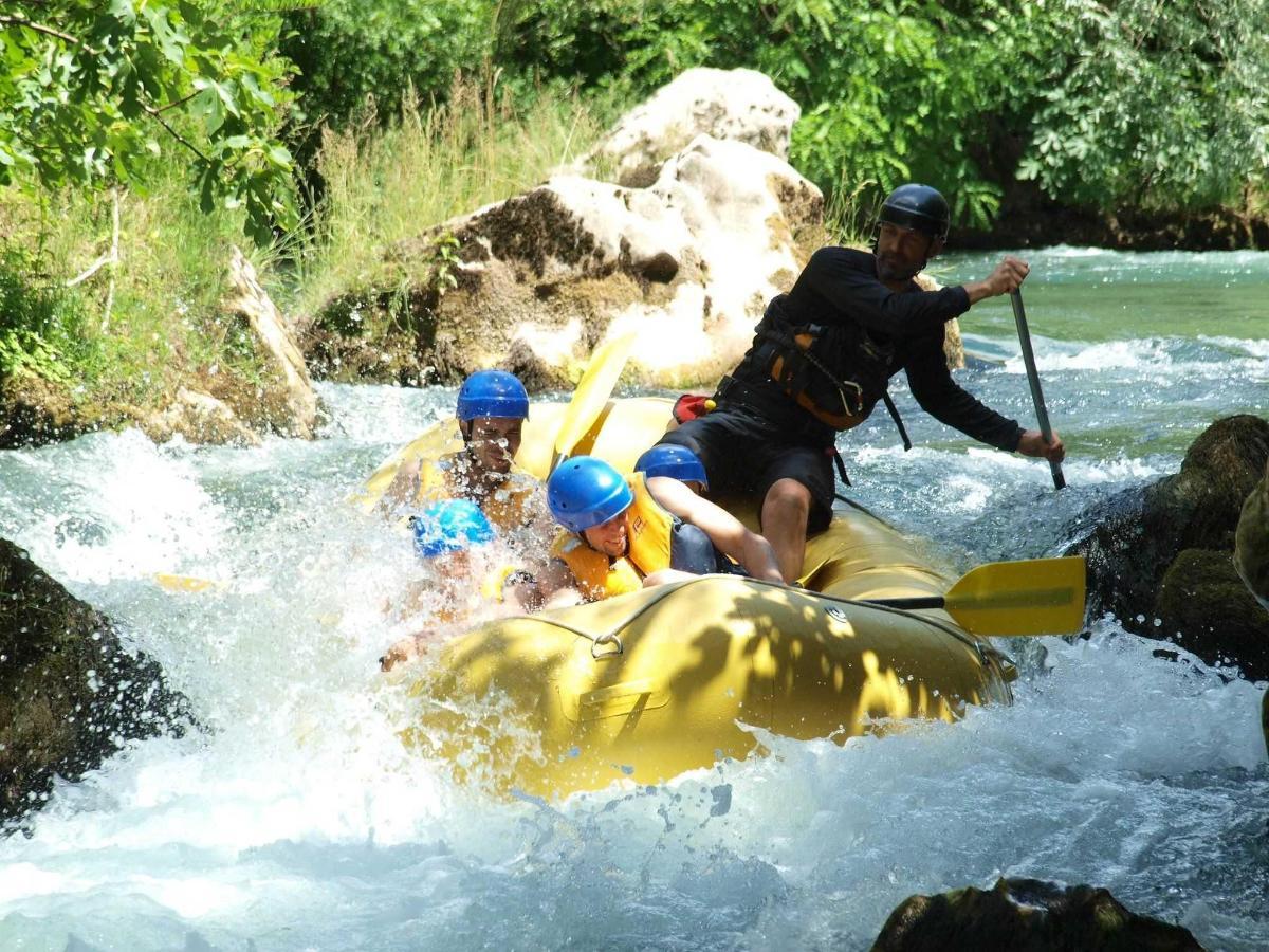 Rafting auf Cetina 4